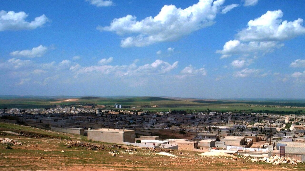 An image of Kobani in 2002. Picture: Chahin Baker