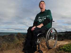 Paraplegic pilot's $9 million fight
