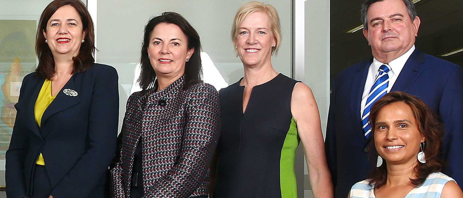 Annastacia Palaszczuk has found some powerful backing for Queensland's Olympic Games bid.