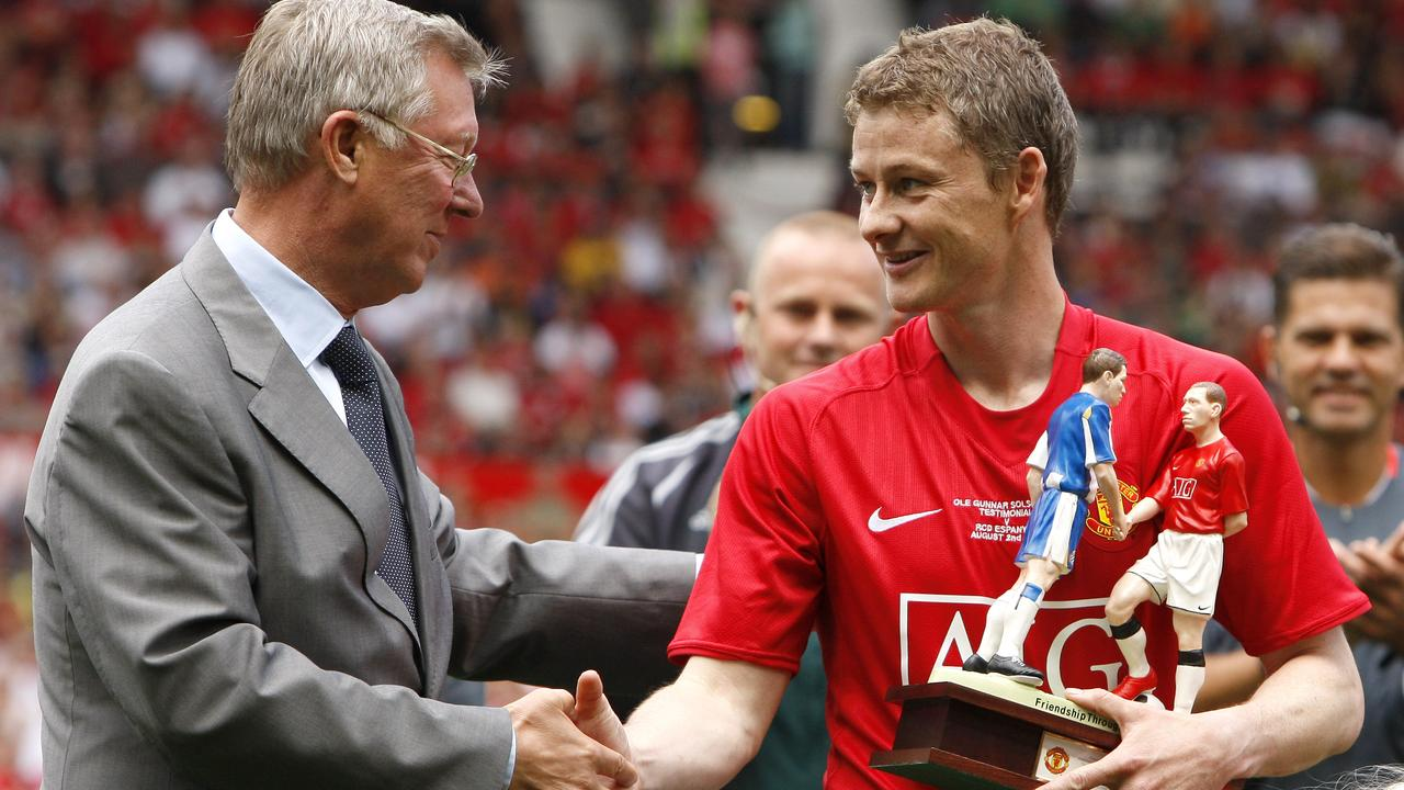 Solskjaer still represents United's golden era.