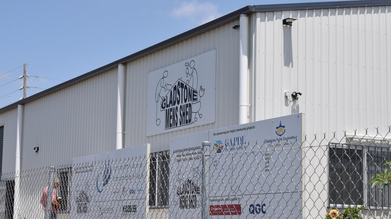 Gladstone Men's Shed is located at 18 Moura Cres, Barney Point.