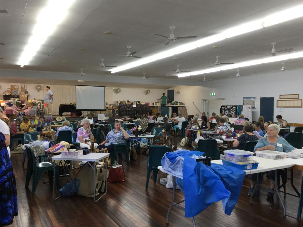 The Valley Spinners and Craft Group celebrated 40 years with a jamboree at Seaforth.
