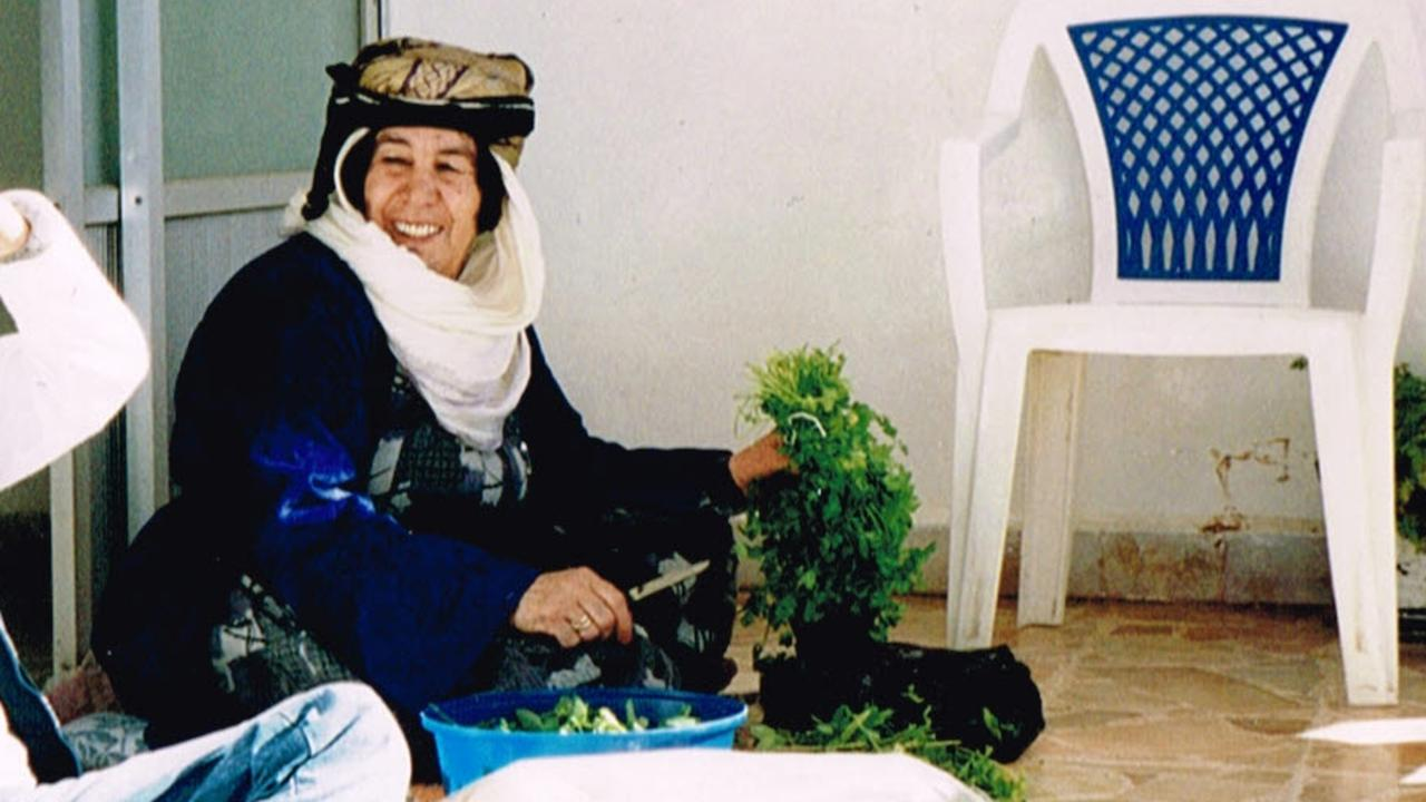 Shireen's grandmother was carried on the backs of family to the border of Turkey during the ISIS invasion. She later returned to Kobani where she died three years later.