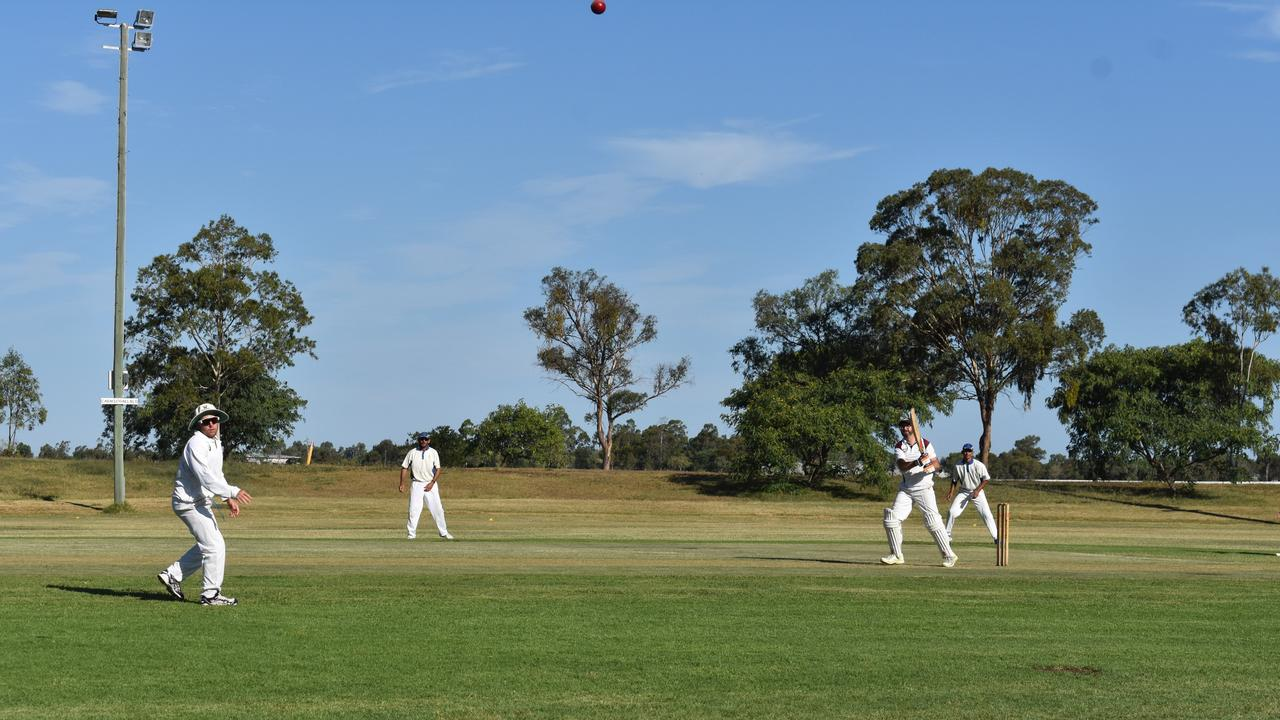The first game of 2019 for the Dalby Cricket Association, featuring Colts vs. Criterions.