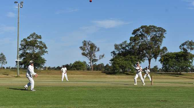 Junior cricketers urged to 'have a go'