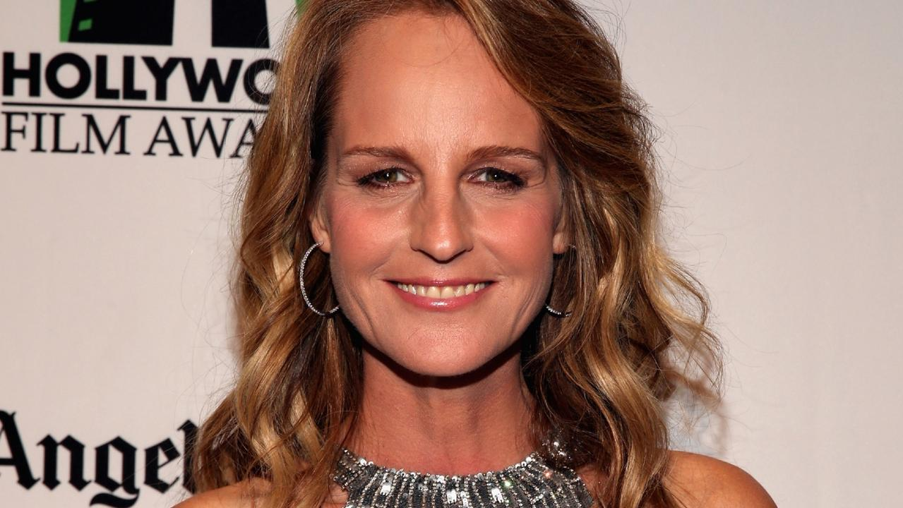 Actress Helen Hunt was briefly hospitalised. Picture: Christopher Polk/Getty Images