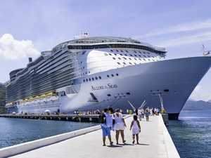 Cruise ship passenger banned for dumb act