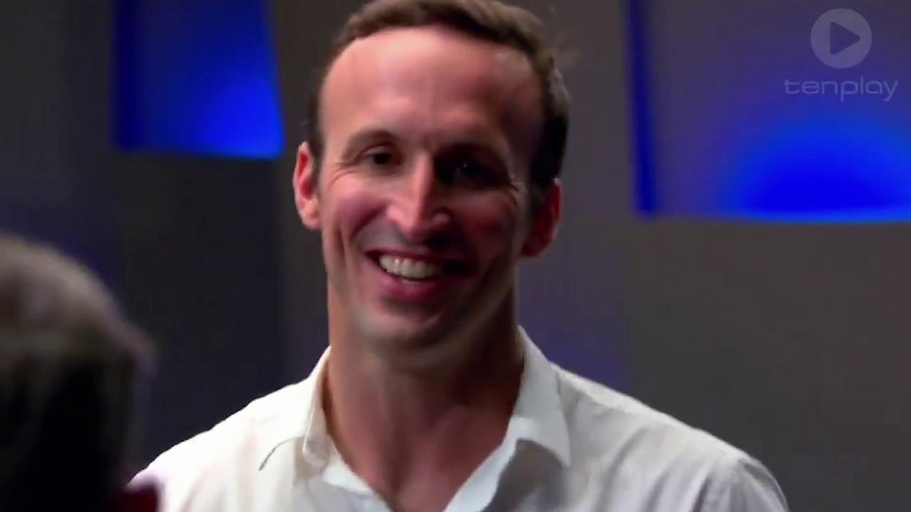 Sofi Spritz founder Tom Maclean on Shark Tank in 2016.