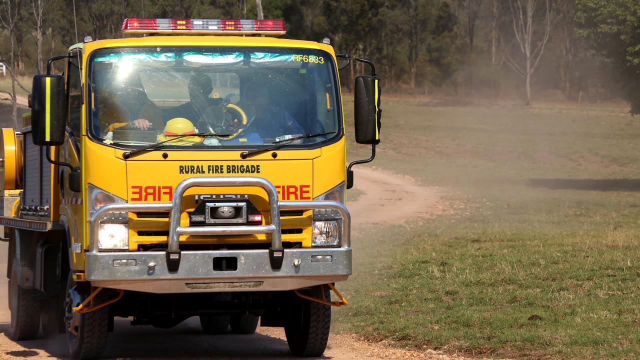 Fire truck. September 12, 2014.Photo Tessa Mapstone / South Burnett Times