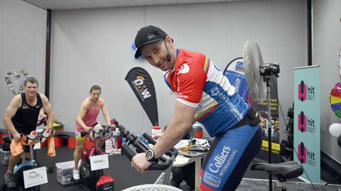 World Gym Toowoomba puts the spin on fundraising