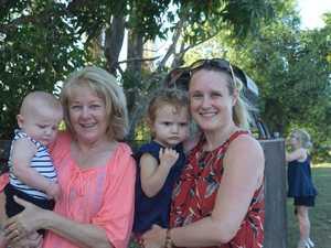 Tom Dufty, 6 months, Lyn Farrell, Hannah Dufty, 2