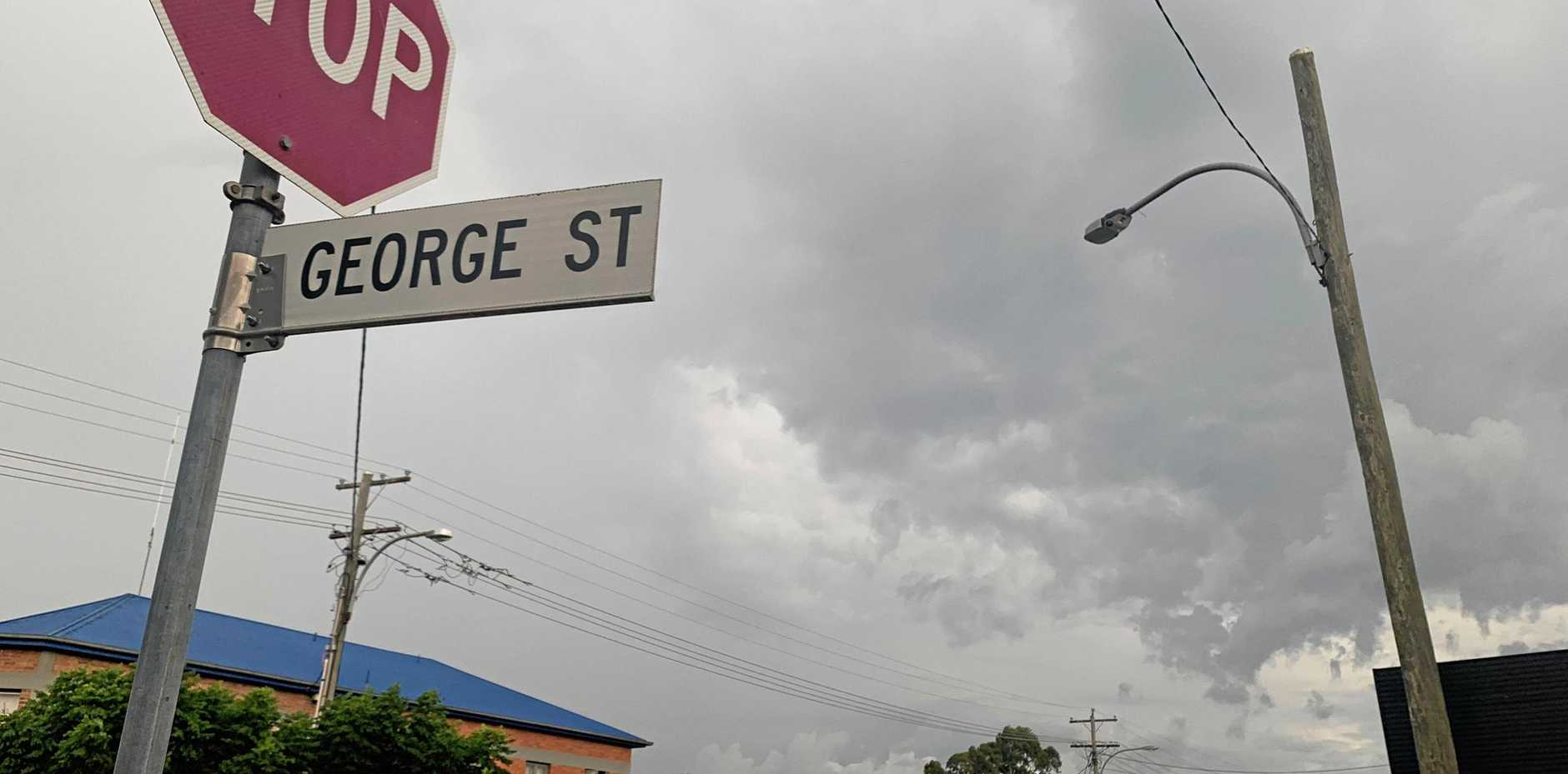 GETTING DARK: Storm warnings are live for towns around the South Burnett.