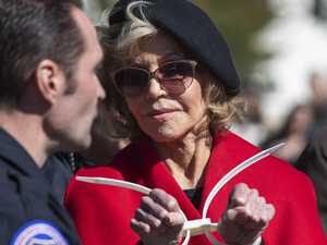 Fonda arrested alongside Netflix co-star