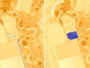 Blue spots cause Aussie outrage