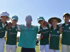 Junior cricket starts with a century