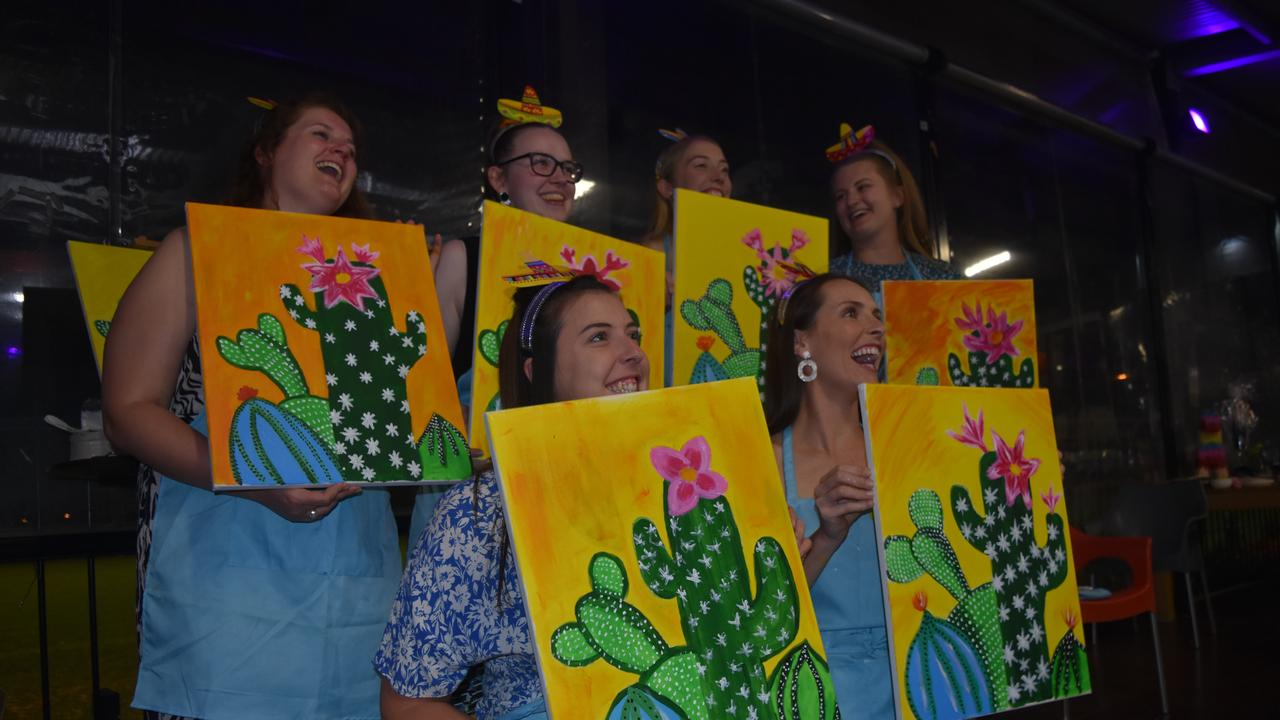 Dalby Leagues Club hosted a Mexican themed Paint and Sip.