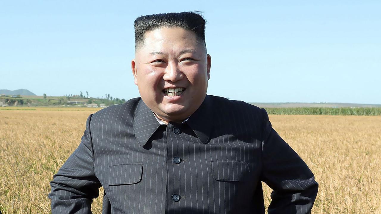 North Korean leader Kim Jong-un was raised in bizarre circumstances. Picture: AFP Photo/KCNA via KNS
