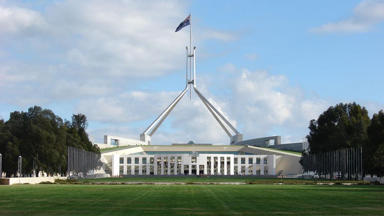 Parliament House, Canberra.