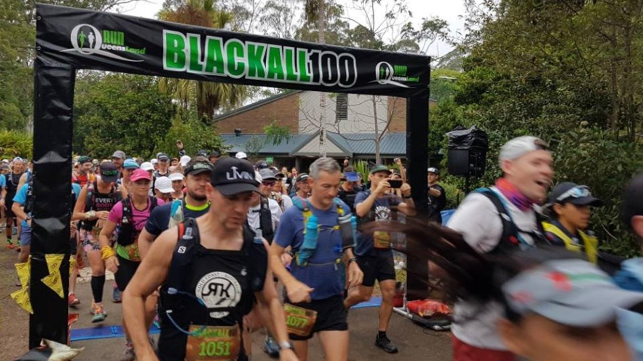 RUNNERS who headed out on the Blackall 100 run in the Sunshine Coast hinterland today have encountered what may be booby trap devices laid to sabotage the event. An organiser said police had been called.