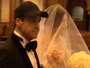 Fenech shrugs off open-heart surgery for daughter's wedding