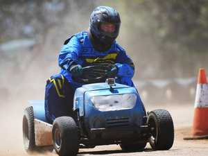WATCH: Mower racers ready to bring their A game