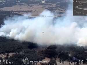 Bushfire returns: 'Protect yourself'