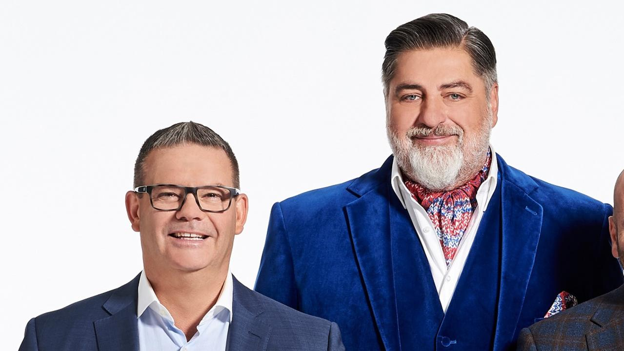 Gary Mehigan and Matt Preston. Picture: Supplied/Ten