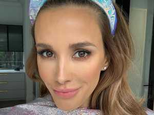 Bec Judd's wild outfit turns heads