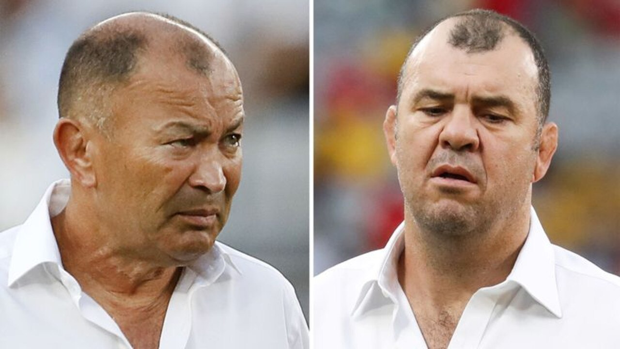 Eddie Jones and Michael Cheika.