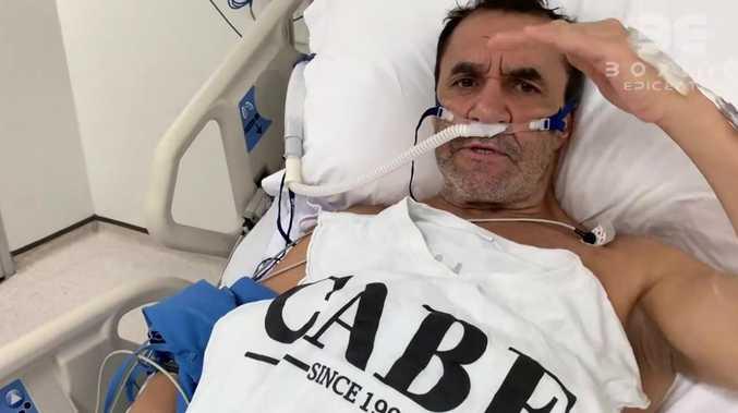Fenech fury at Lewis hospital snub