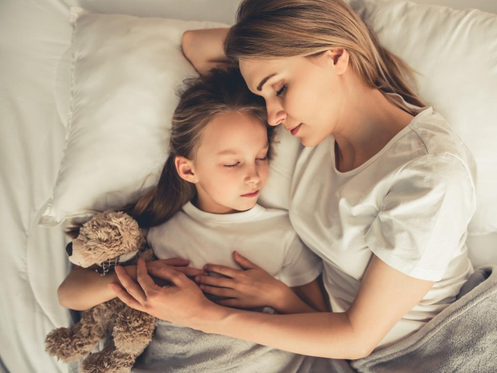 Some parents would climb into bed with their kids. Picture: istock