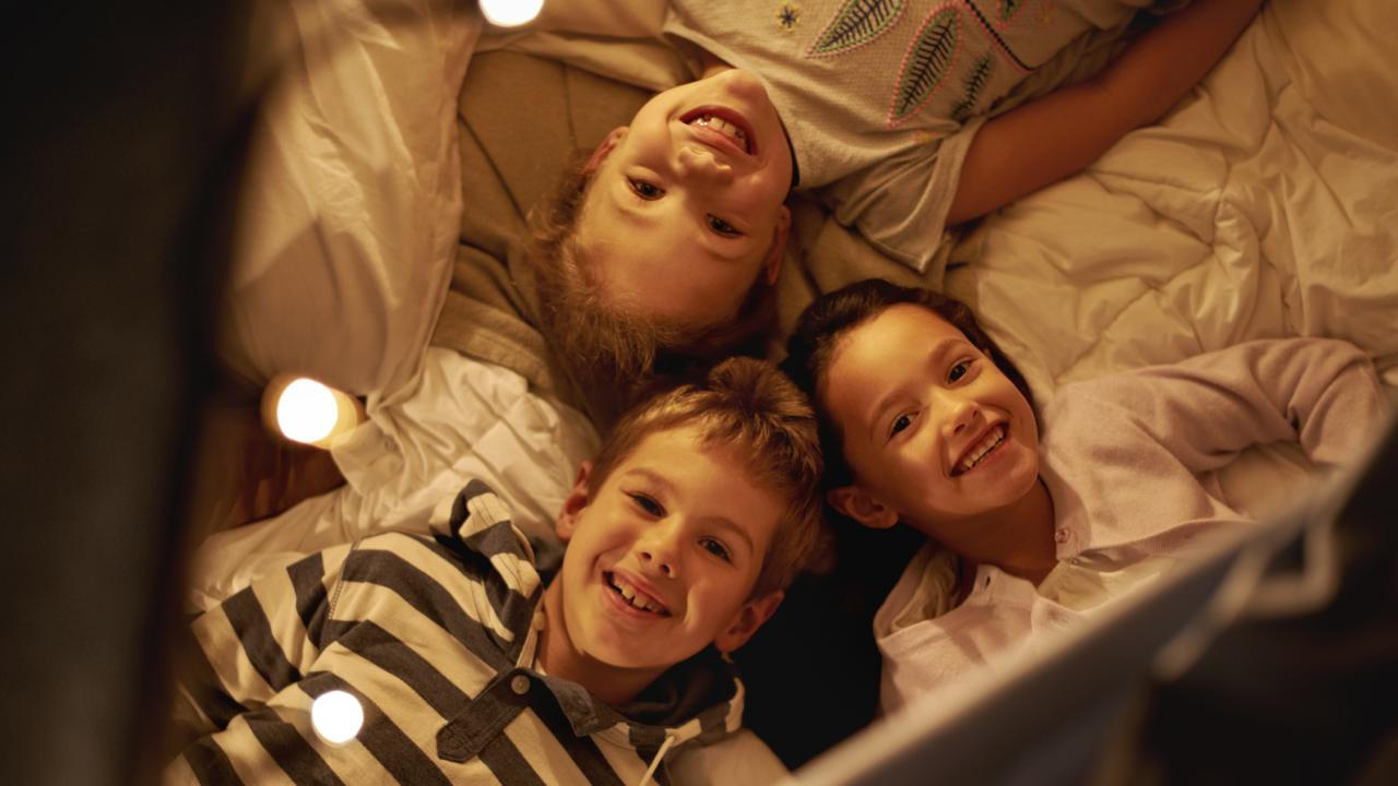 Sleepovers have the ability to break parents. Picture: supplied
