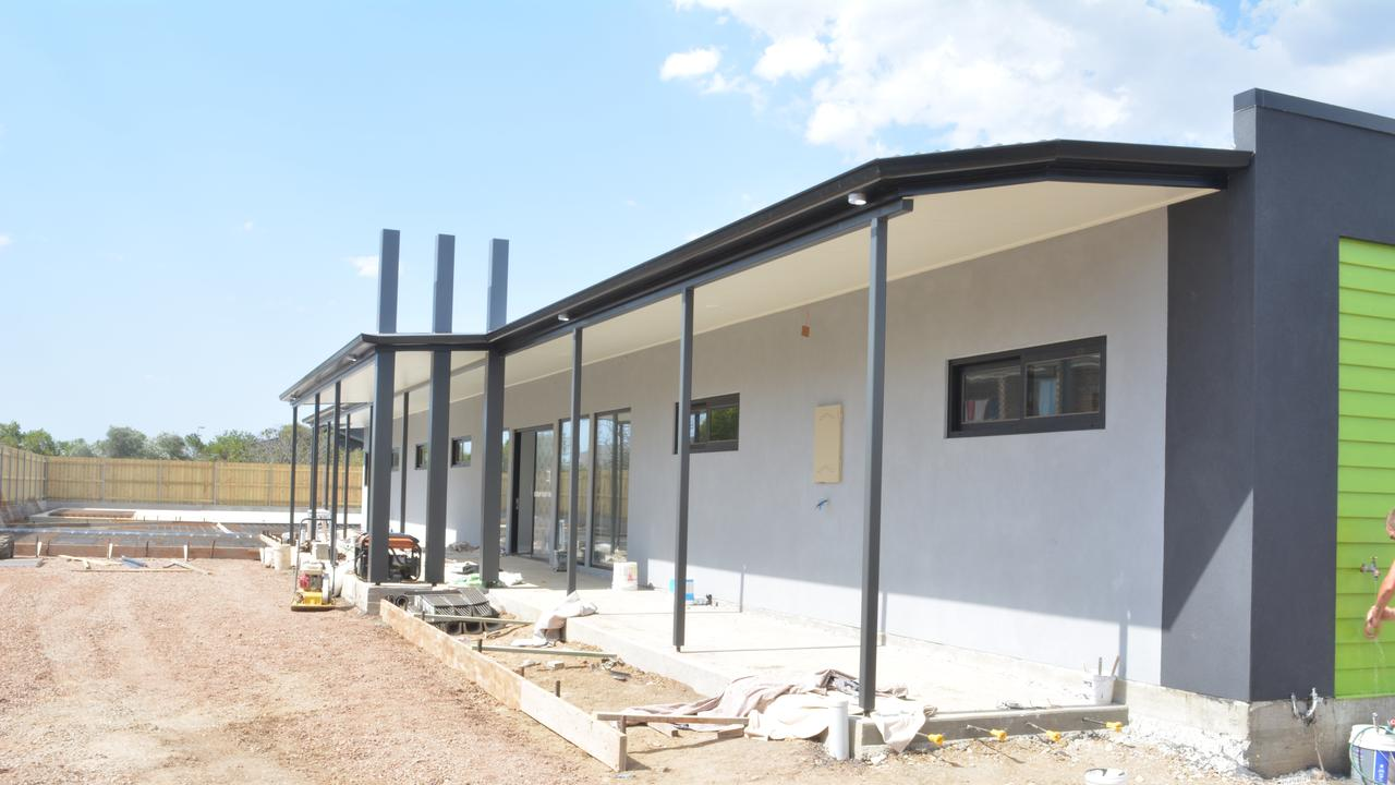 Gilgunya Homes Pty Ltd supervising builder Andrew Field said the medical centre will open its doors early next year.
