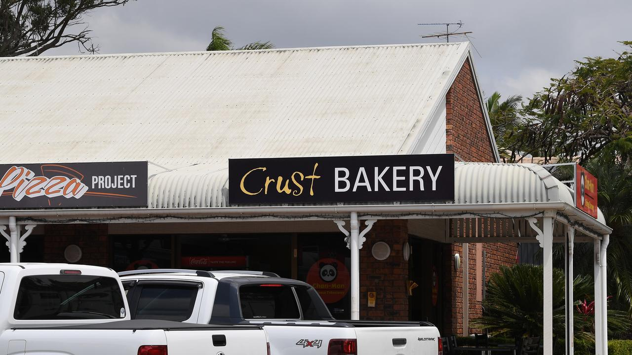 Crust Bakery at Mountain Creek was the scene of an alleged armed robbery.