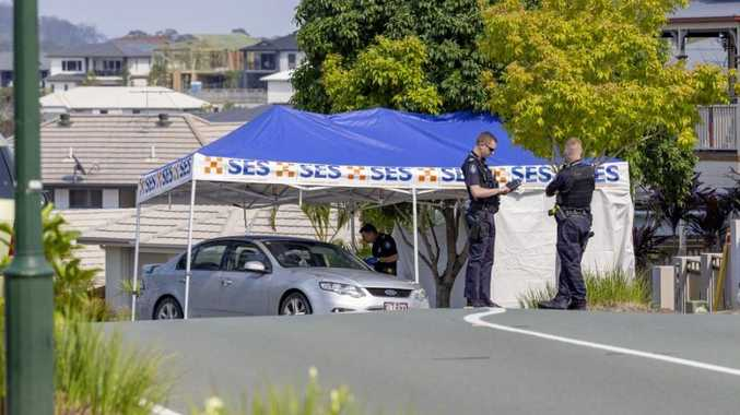 Man tried to chase down ute before death