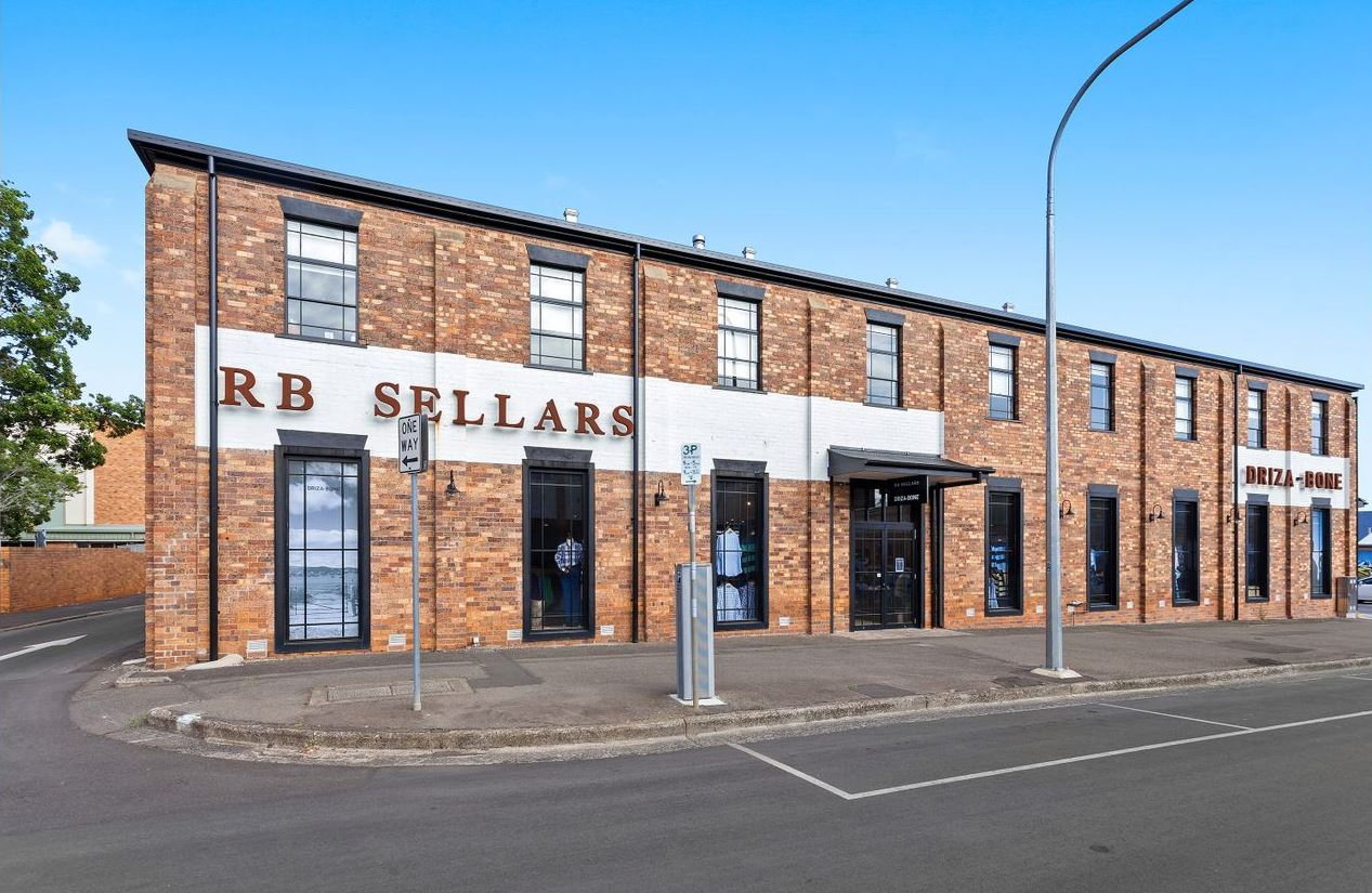 RB Sellars building for sale.
