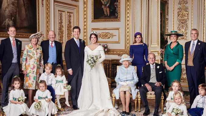 Sad truth hidden in royal wedding snap