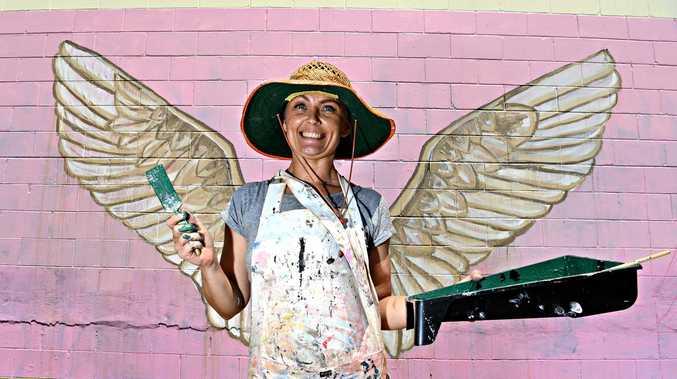 Artists liven up hinterland town