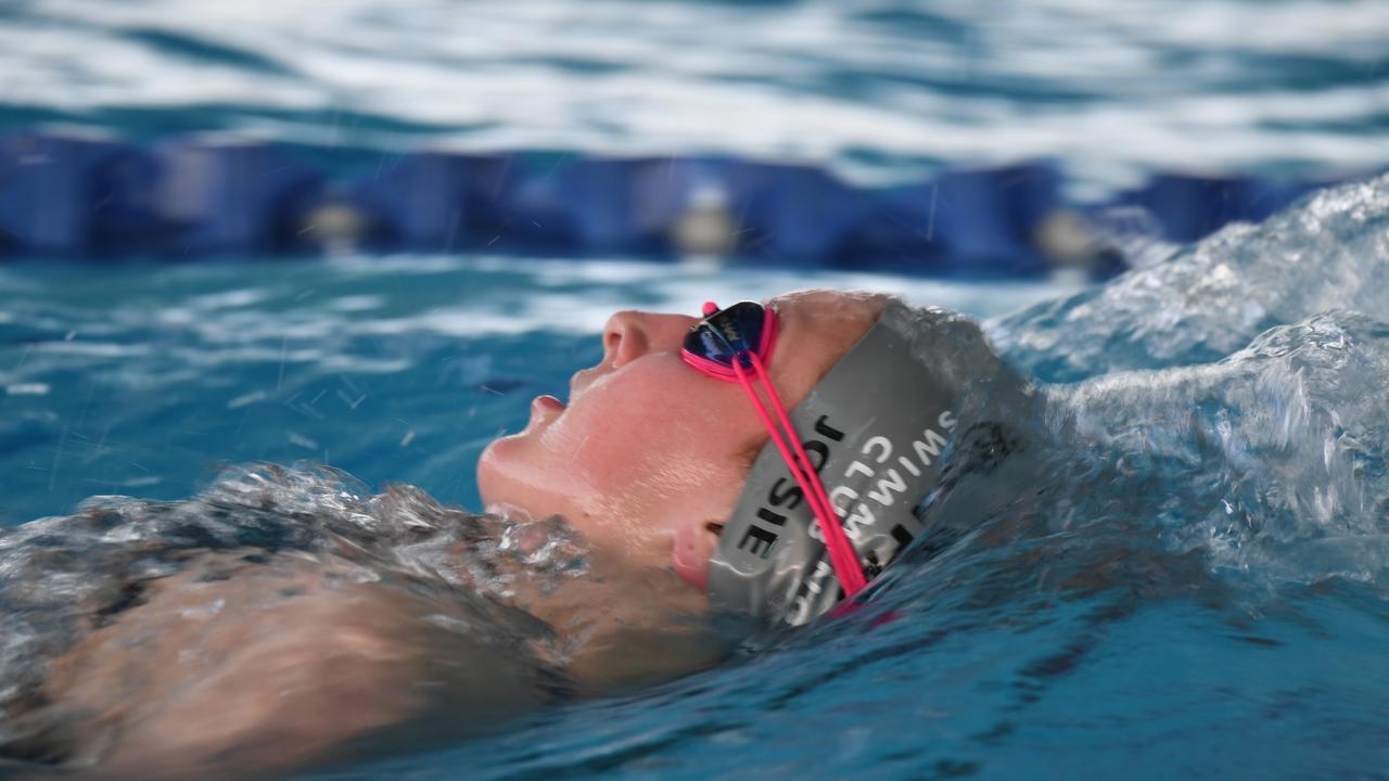Swimming: Josie Daly 400m Medley.