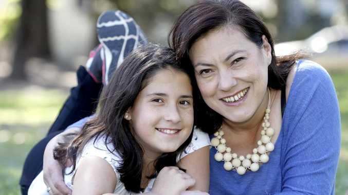 Little hero saves her mum nine months after dad's death