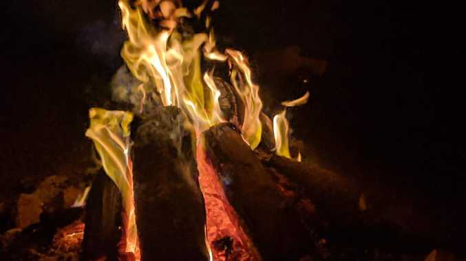 Young girl burnt in campfire incident