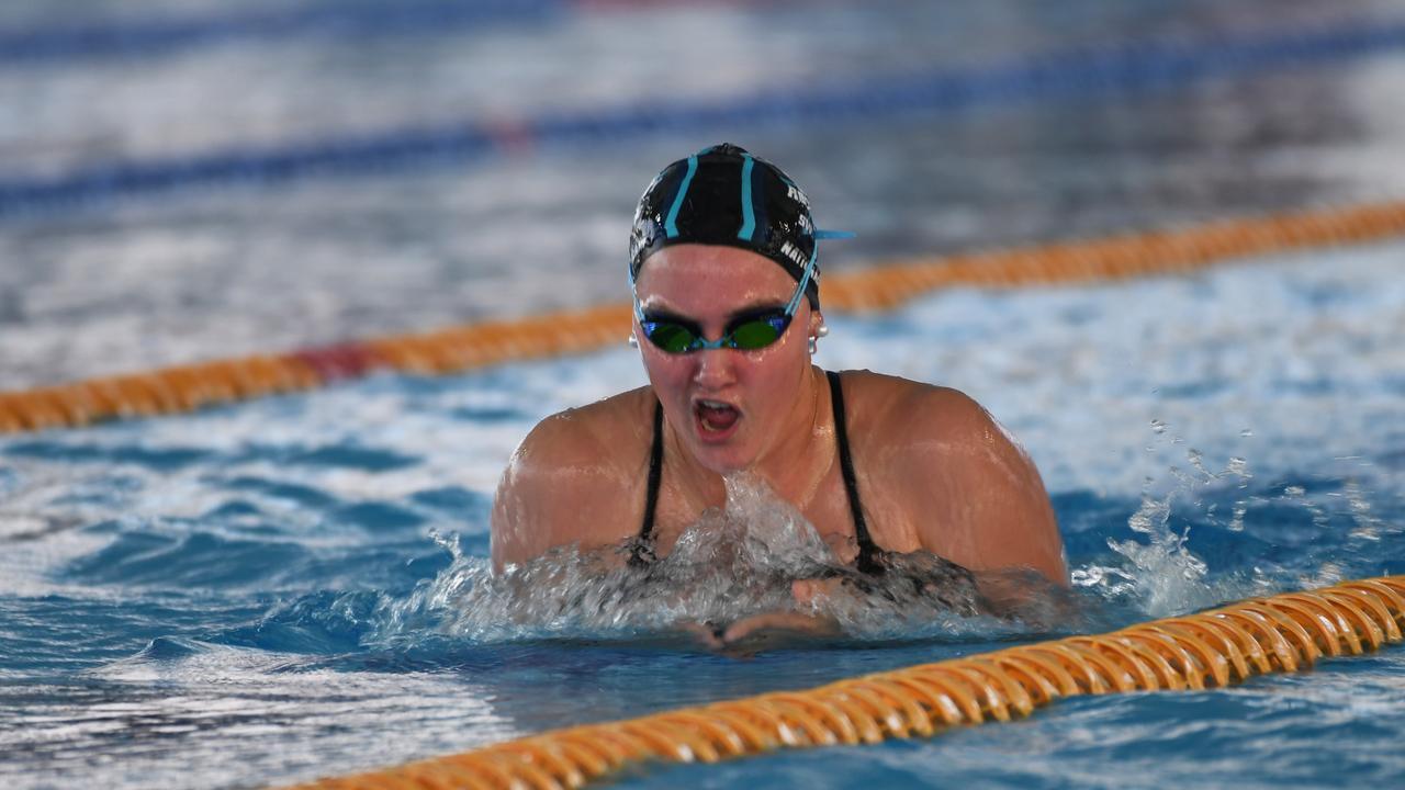 Swimming: Miranda Chopping 400m Medley.