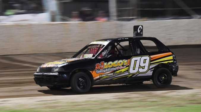 Boss of modified sedans  Junior Sedan Piston Cup tears into Rocky showground