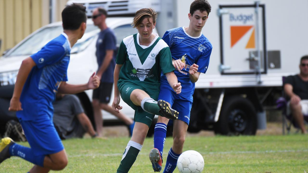 Soccer: Frenchville's Sonny Davies.