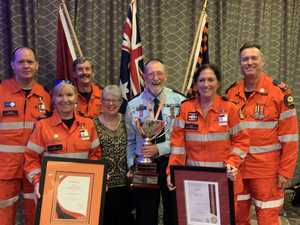 Coast disaster heroes honoured