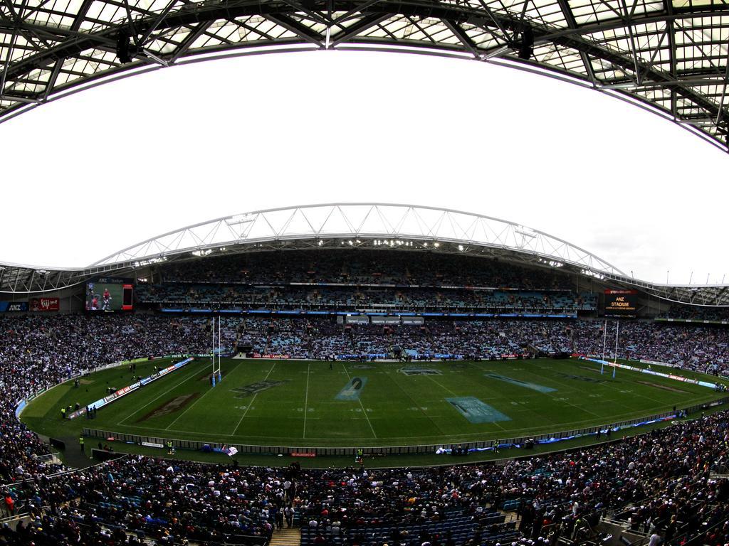 ANZ Stadium at Olympic Park, Homebush.