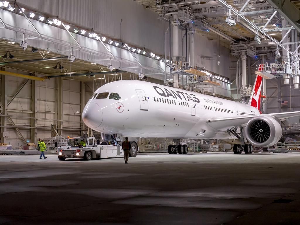 The Qantas Boeing 787-9 Dreamliner has made aviation history. Picture: Qantas