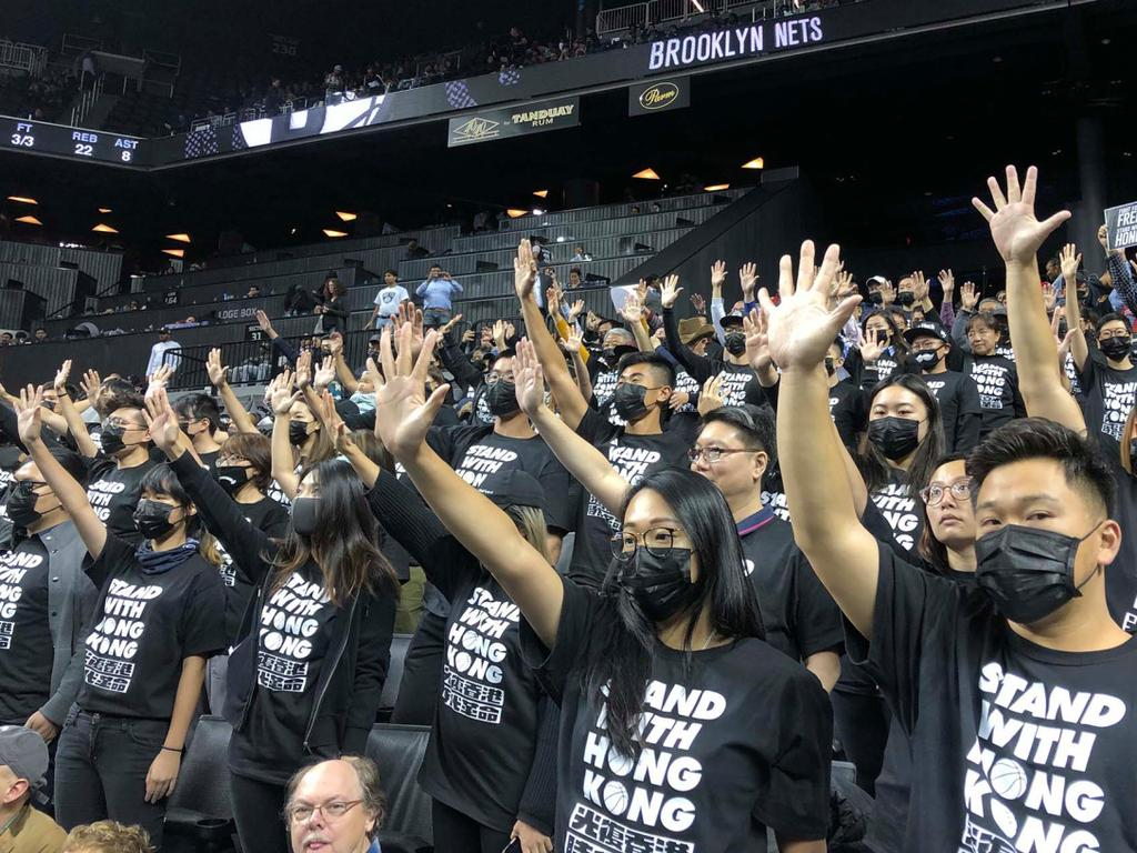 NBA fans protest in New York. Credit: Rachel Green.