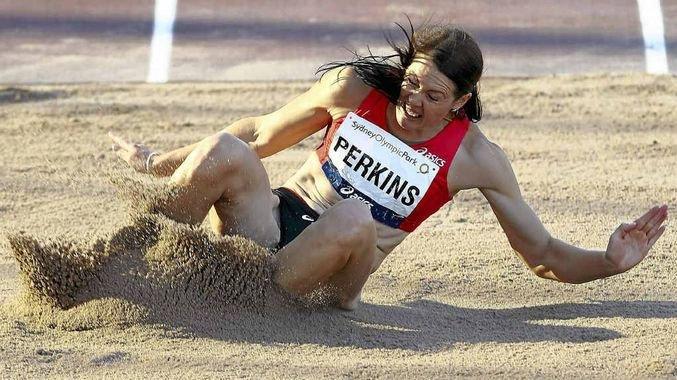 Athlete Kerrie Perkins.