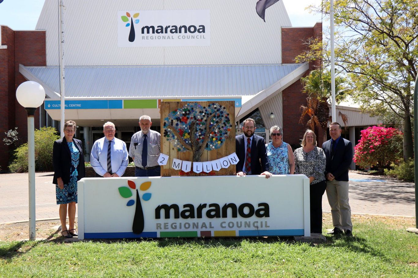 Maranoa Regional Council has marked a major milestone, having received 2million containers in 8 months.